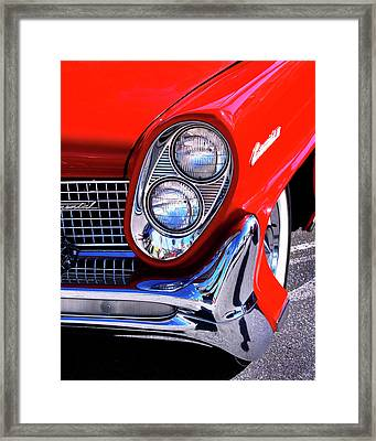 Red Hot Continental Palm Springs Framed Print by William Dey