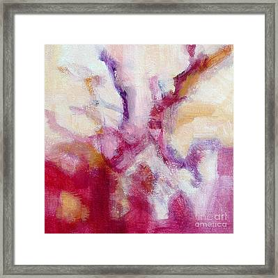 Red Coral II Framed Print by Virginia Dauth