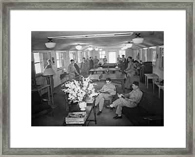 Red Cross Club, 1943 Framed Print by Granger