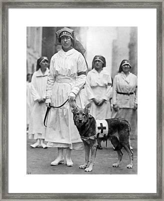 Red Cross Parade, 1920 Framed Print by Granger