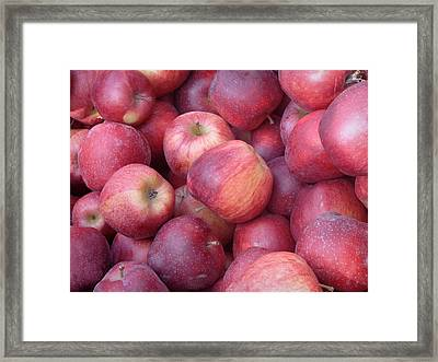 Framed Print featuring the photograph Red Delicious by Joseph Skompski