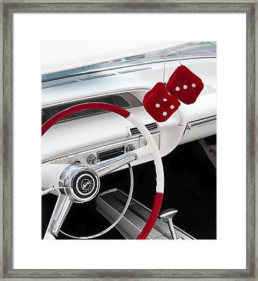 Red Dice Framed Print by Phil 'motography' Clark