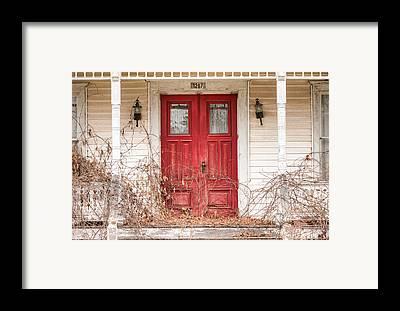 Door Framed Prints