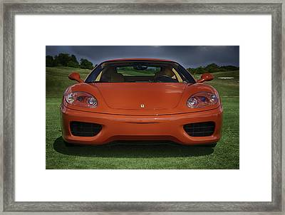 Red Dream Framed Print by Sebastian Musial