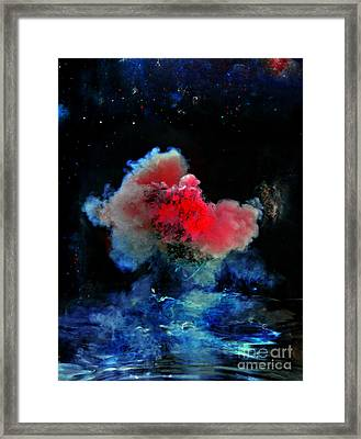 Red Dwarf Framed Print by Petros Yiannakas