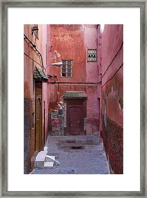 Red End Framed Print