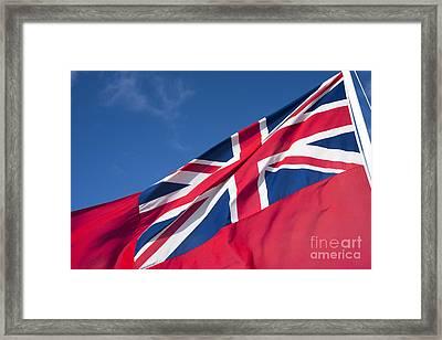 Red Ensign Framed Print