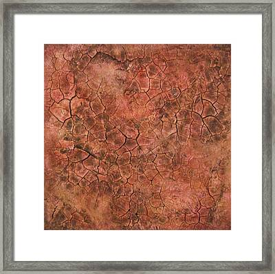 Red Eye Framed Print