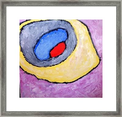 Red Eye Framed Print by Richard Fletchet
