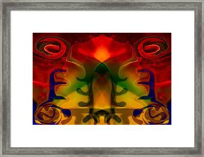 Red-eyes Black Dragon Framed Print by Omaste Witkowski