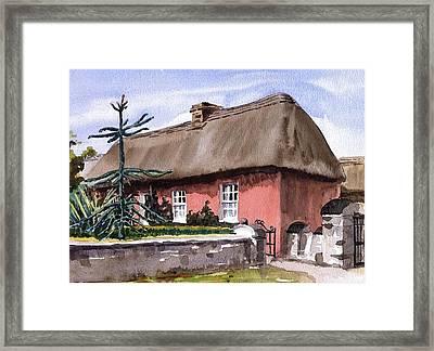 Clare A Well Off Farmers House Bunratty Folk Park Framed Print