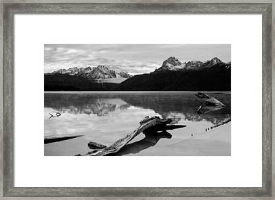 Red Fish Lake Idaho Framed Print