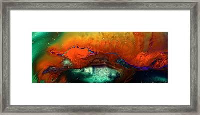 Red Fizz Framed Print