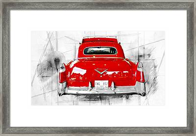 Red Fleetwood Framed Print by Barbara Chichester