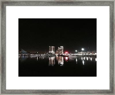 Red For Mb Framed Print by Toni Martsoukos