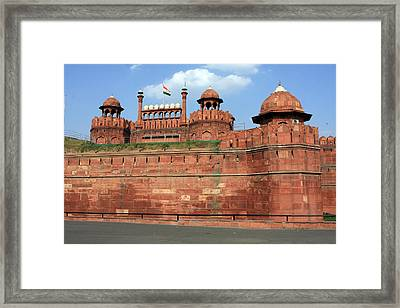 Red Fort New Delhi India Framed Print