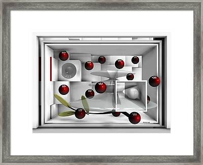 Red Fruits Framed Print