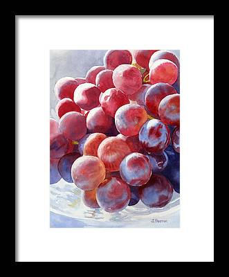 Grape Framed Prints