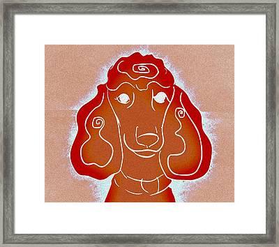 Red Head Framed Print