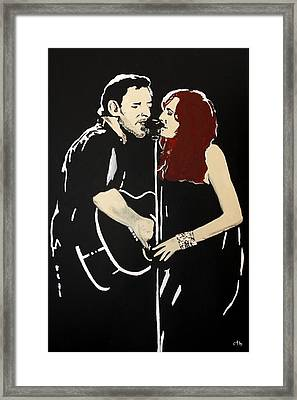 Red Headed Woman Framed Print