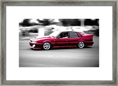 Red Holden Framed Print by Phil 'motography' Clark