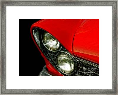 Red Hot Classic  Framed Print by Inspired Nature Photography Fine Art Photography