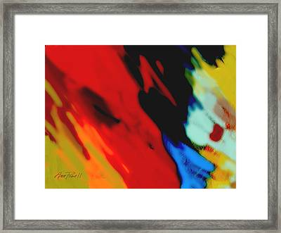 Red Hot Fiesta  Framed Print by Ann Powell