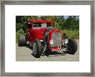 Red Hot Ford Framed Print by James C Thomas