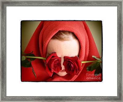 Red Life Framed Print