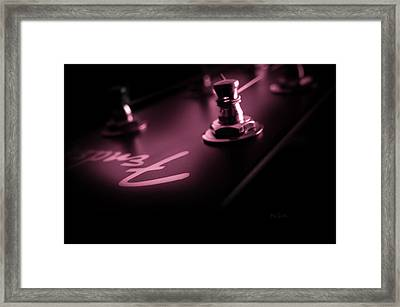 Red Light District  Framed Print by Bob Orsillo