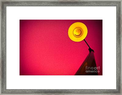 Red Light District Framed Print by Charles Dobbs