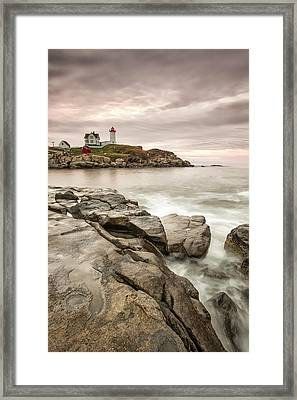 Red Light Framed Print by Jon Glaser