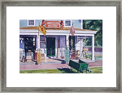 Red Lion Antiques Framed Print