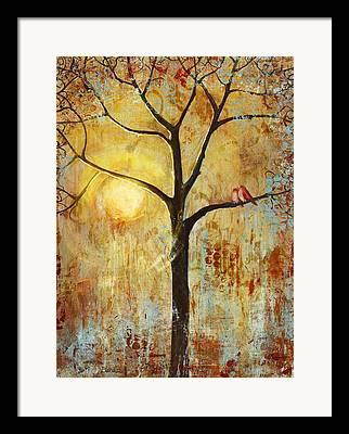 Sun Paintings Framed Prints