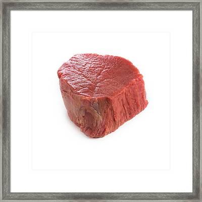 Red Meat Framed Print
