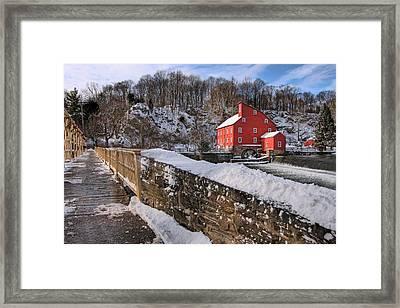Red Mill Winter 2009 Framed Print