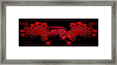 Framed Print featuring the photograph Red October by Robert Kernodle