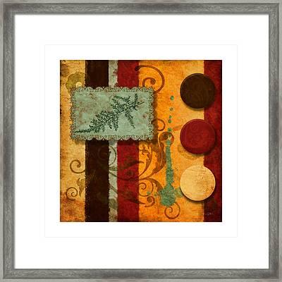 Red Orange Brown 2 Framed Print by Craig Tinder
