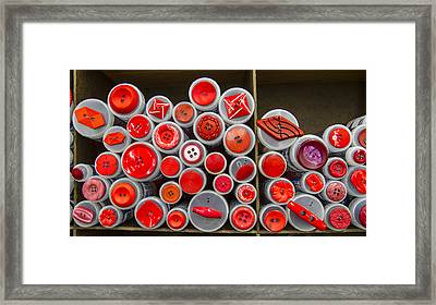 Red Palate Framed Print