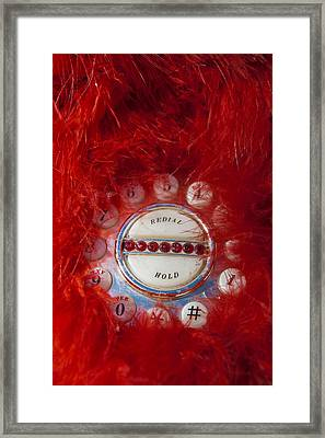 Red Phone For Emergencies Framed Print