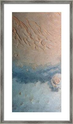 Red Planet 1 Framed Print