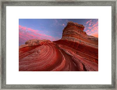 Red Planet Framed Print by Joseph Rossbach