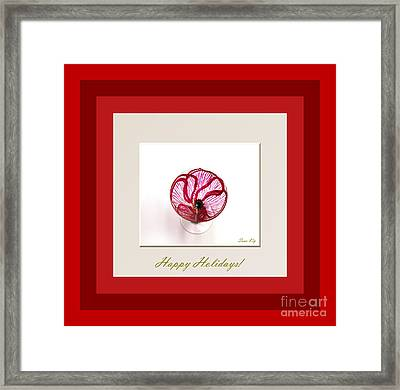 Red Poppy Framed Print by Oksana Semenchenko