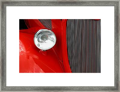 Red Red Roadster Framed Print