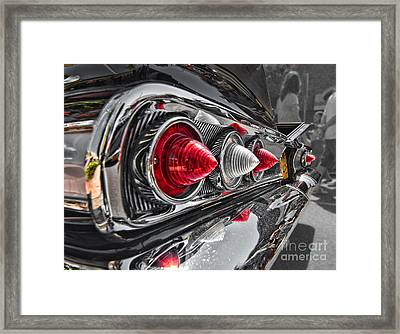 Red Reflection Framed Print by Hot Rod Pics
