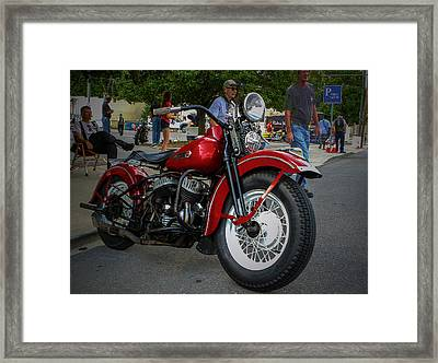 Red Rider Framed Print