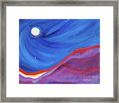 Red Ridge By Jrr Framed Print by First Star Art