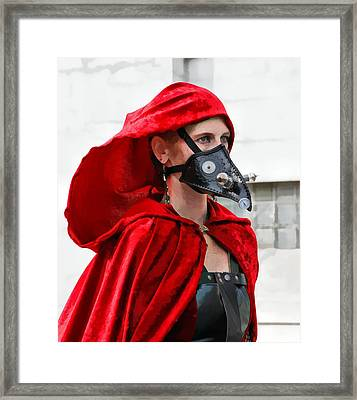Red Riding Hood Framed Print by James Stough