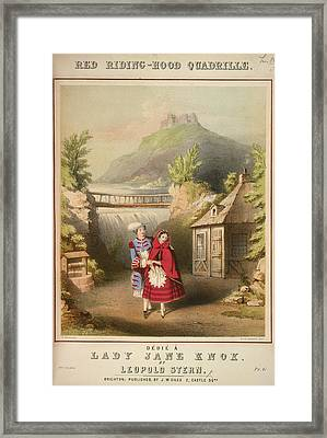 Red Riding-hood Quadrille Framed Print by British Library