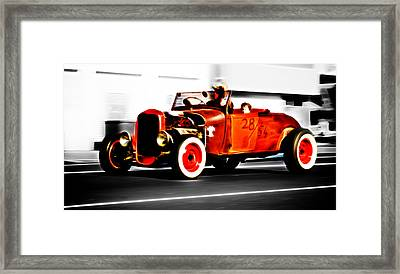 Red Riding Rod Framed Print by Phil 'motography' Clark